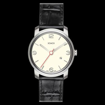 XEMEX PICCADILLY QUARTZ Ref. 880.14 3 HANDS DATE