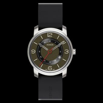 XEMEX PICCADILLY QUARTZ Ref. 880.23 3 HANDS DATE