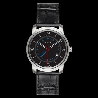 XEMEX PICCADILLY QUARTZ Ref. 881.04 GMT