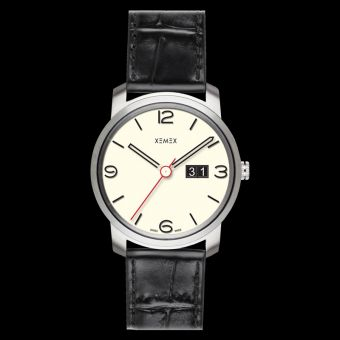 XEMEX PICCADILLY QUARTZ Ref. 882.24 BIG DATE