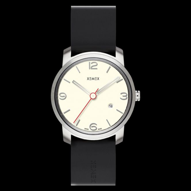 XEMEX PICCADILLY QUARTZ Ref. 880.13 3 HANDS DATE