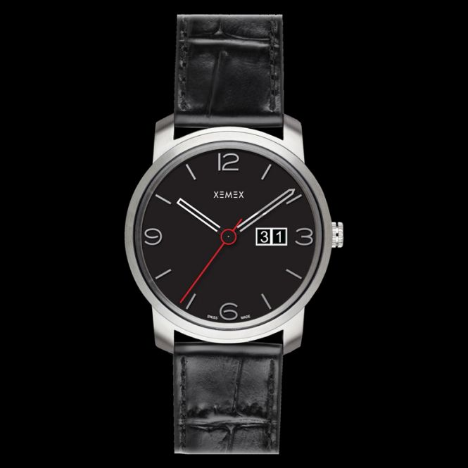 XEMEX PICCADILLY QUARTZ Ref. 882.04 BIG DATE
