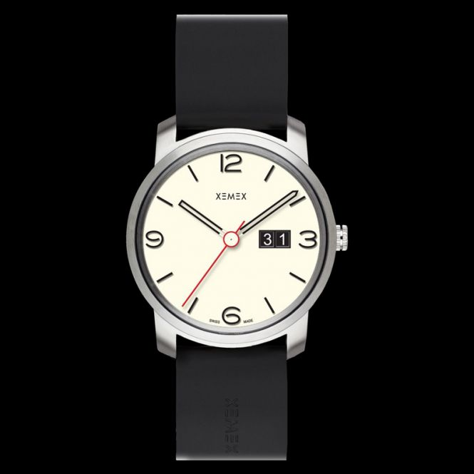 XEMEX PICCADILLY QUARTZ Ref. 882.23 BIG DATE