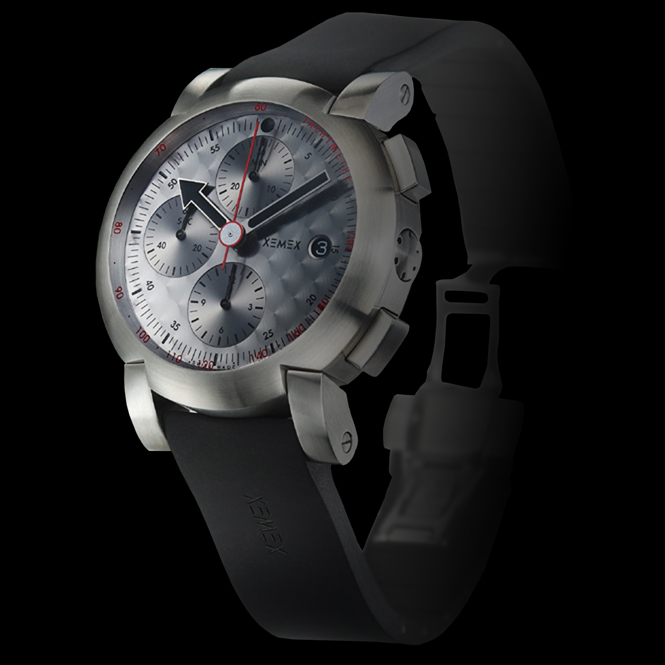 XEMEX XE 5000 Ref. 5500.03 CHRONOGRAPH SILVER SPEED